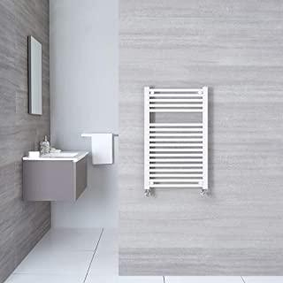 Radiador calefactor de ba/ño Radiador calentador y secador de toallas ECD Germany Radiador toallero de ba/ño DHK Makan Radiador de pared 500 x 1200 mm No el/éctrico Cromado Dise/ño moderno